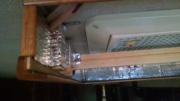 slot for sliding panel